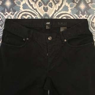Men's H&M Black Pants