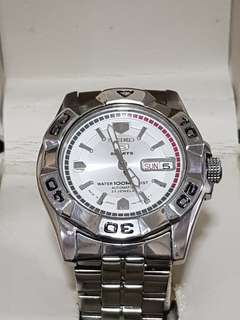 SEIKO 5 SPORTS DAY/DATE AUTOMATIC MEN'S WATCH 7S36-02L0, SNZE47