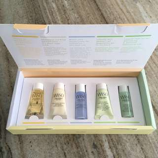 WASO SHISEIDO TRAVEL SET