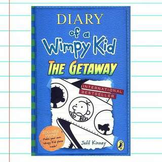 (BN) Diary Of A Wimpy Kid: The Getaway