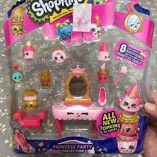 Shopkins princess party collection
