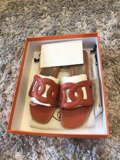Hermes sandals (brand new)