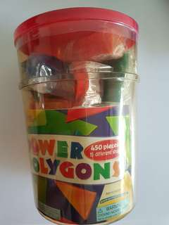 Brand New - Learning Resources Power Polygons