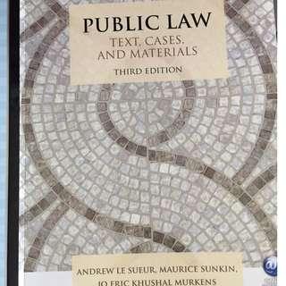 Public law third edition