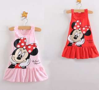 Minnie Mouse Dress ( Red )