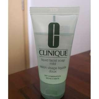 Clinique Liquid facial soap mild, travel size 30ml