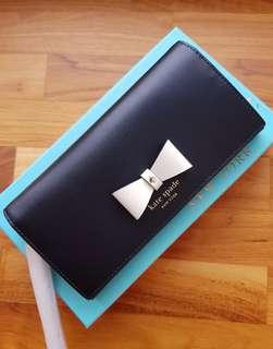 Kate Spade Linney Baldwin Street Bow Ribbon Wallet Wristlet