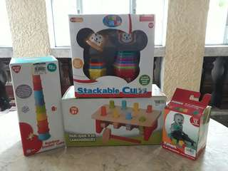 Pre-loved baby toys bundle