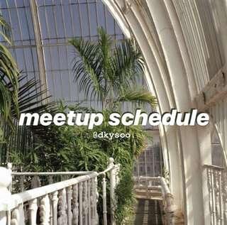 meetup schedule¡¡ 🌊