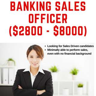 Banking Sales Officer (Credit Cards and Loans)