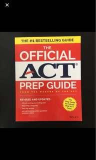 ACT prep book
