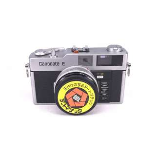 Canodate E Compact Rangefinder Film Compact (Used) {SN:**0420]