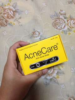 Unused AcneCare soap