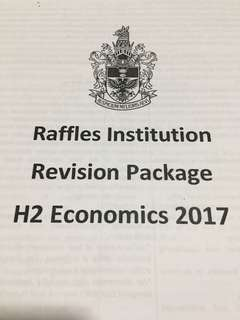 Revision Package for Econs
