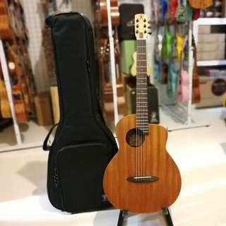 Anuenue M2 EQ Acoustic Guitar With Built In Pick Up FREE Padded Gig Bag