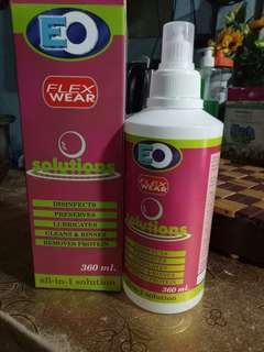 EO All in 1 Contact lens solution