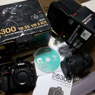 D5300 plus sigma 17 - 50 2.8