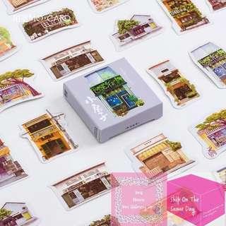 Set of 45pcs Decoration of Tiny House Sticker Pack