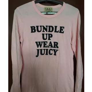 JUICY Couture Pink Longsleeve Cotton Sweater
