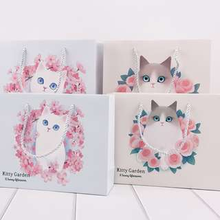 Kitty Garden Fancy Paper Bag