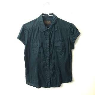 🚚 LP Zone深藍綠襯衫