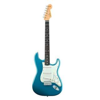 Fender Classic Series 60s Stratocaster Guitar, Rosewood Neck, Lake Placid Blue