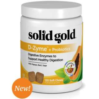 Solid Gold D-ZYME + Probiotic