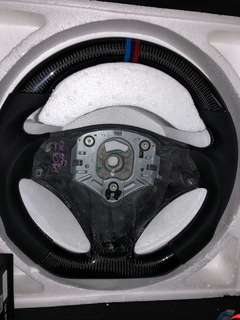 BMW M3 steering wheel