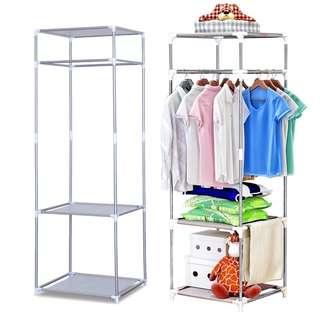 Stainless Steel Multipurpose Cloth Organizer Rack