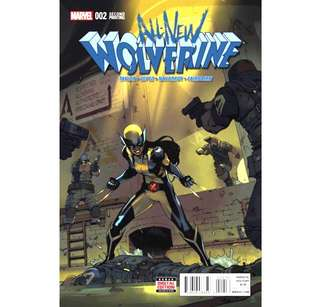 ALL-NEW WOLVERINE #2 (2016) 2nd Print 1st Gabby (Honey Badger) Scarce