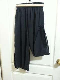 🚚 黑7分褲