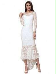 MG lace wedding dress