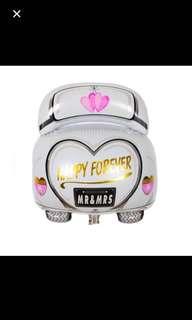 Wedding car balloon