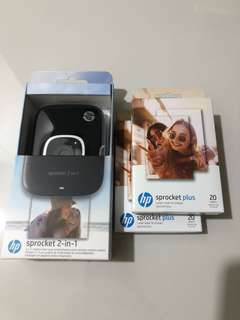 HP Sprocket 2-in-1