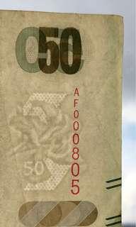 標準生日鈔   05/08/2000 八月五日 08/05/2000 五月八日