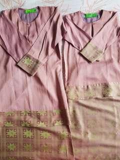 Kids / Girls Baju Kurung - Dusty Pink