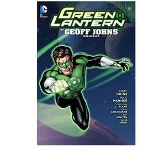 Green Lantern By Geoff Johns Omnibus Volume 3