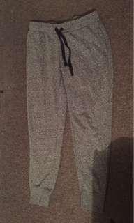 Grey trackpants