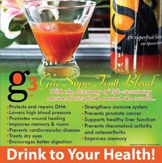Gac G3 antioxidant super fruit blend with lipacarotene