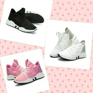 Couple High-Top Korean Sneakers Shoes