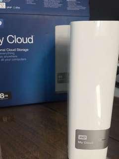 My cloud WD 8T