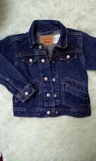Levis Jacket Jeans girl