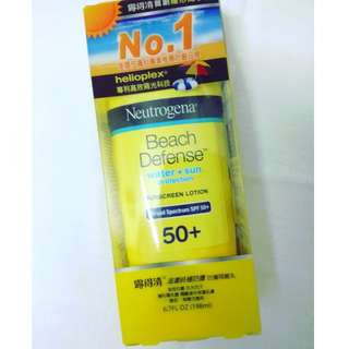 Neutrogena Sunscreen Lotion SPF 50+ for face/body (198mls) @ $18