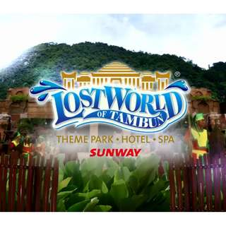 HOT DEAL : 3D2N IPOH LOST WORLD OF TAMBUN ( LAND SELLING ) MIN 2 TO GO