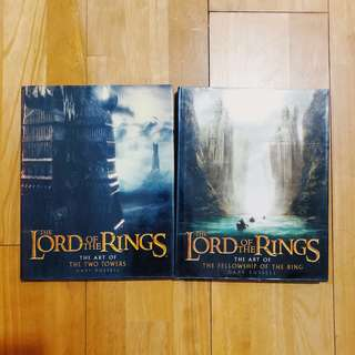 The art of Lord Of The Rings set of 2