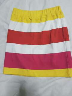 Oxygen Fitted Summer Skirt