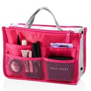 Multifunction Makeup Organizer Bag Women Travel Cosmetic Bag Insert