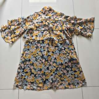 Authentic Zara Floral Dress #midmay75