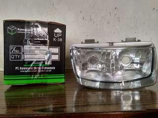 Reflektor lampu depan orisinil Kawasaki Kaze