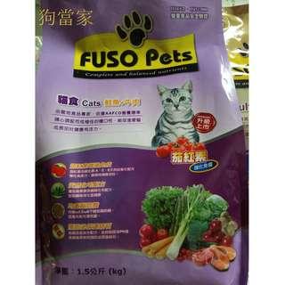 福壽貓食鮭魚加牛肉1.5kg